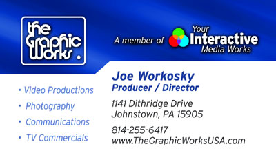 Joe Workosky, Photographer, Videographer, Producer and Director at TheGraphicWorksUSA.com and Member of YourInteractiveMediaWorks.com