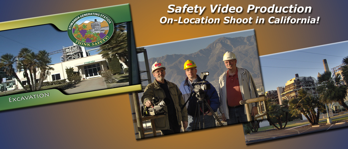 Safety Video DVD and Safety Booklet projects produced by InteractUSA.com