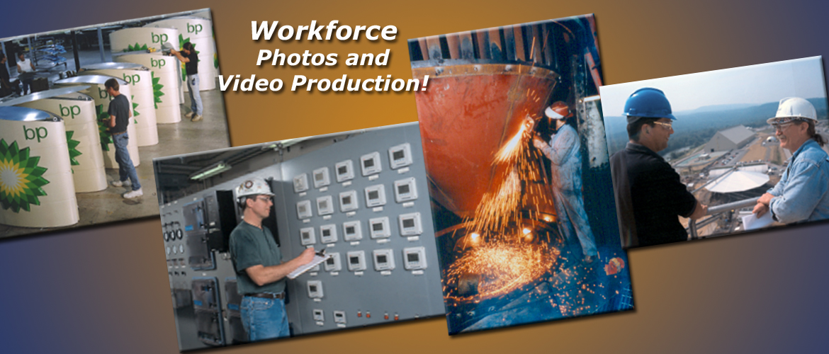 Workforce photos and video projects produced by InteractUSA.com